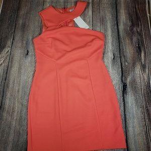 🔥Tobi coral bodycon dress NWT size medium